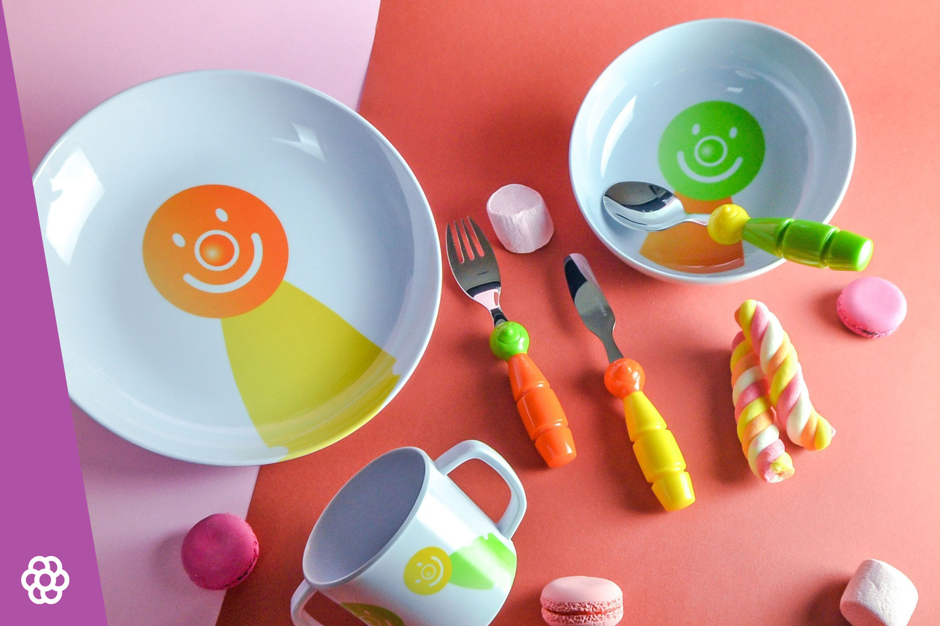 Bezpieczne i kolorowe naczynia dla dzieci i niemowlaków