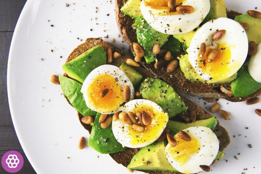 jajka w diecie biegacza
