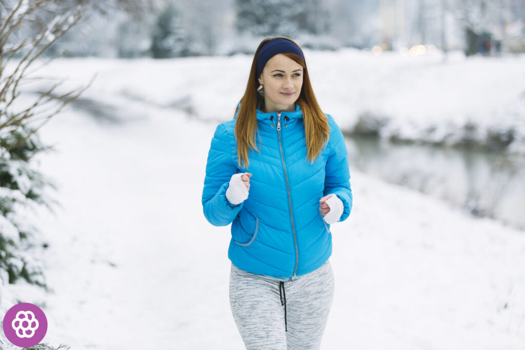 Rozgrzewka przed bieganiem zimą