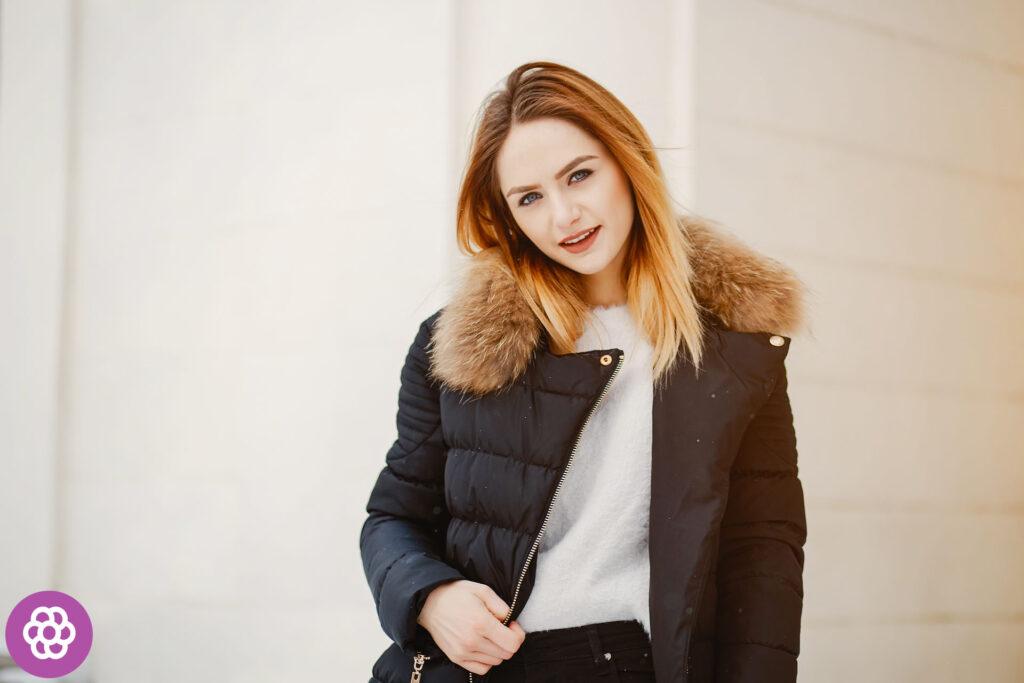Jaka kurtka puchowa na zime?