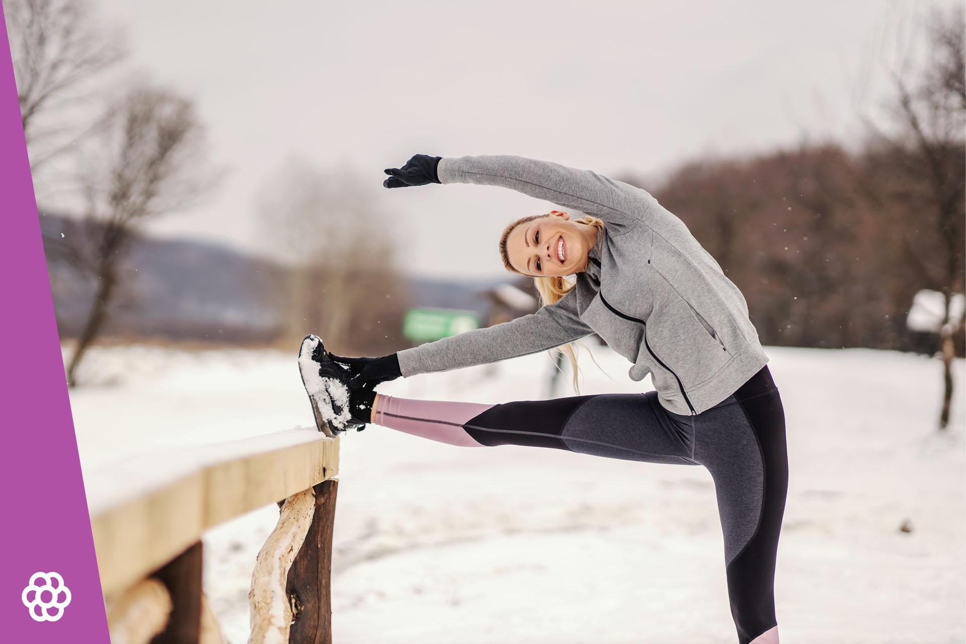 Rozgrzewka przed bieganiem zimą – na mrozie, przy niskich temperaturach