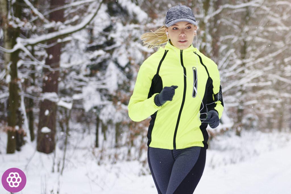 Trucht przed bieganiem zimą