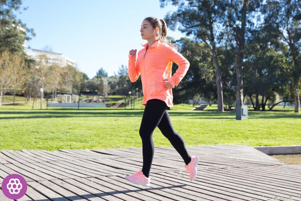 Strój do biegania wiosną