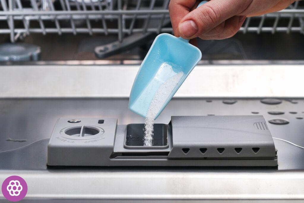 Środki myjące do zmywarek - sól