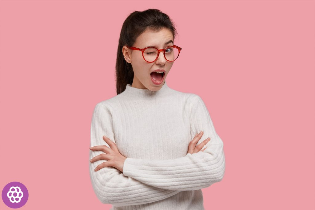 okulary dla brunetki