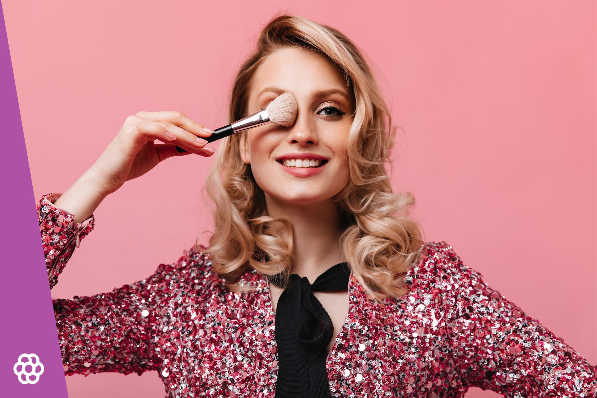 Makijaż dla blondynek z brązowymi oczami